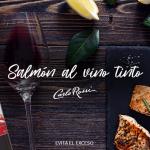 salmón al vino tinto